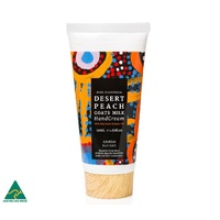 Desert Peach (Quandong) fragranced Goats Milk Handcream (50ml) - Watson Robertson