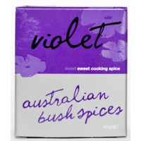 Australian Bush Spices Violet Sweet Cooking Spice - 80g