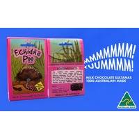 Aussie Sweet Treats - Echidna Poo (100g) - Milk Chocolate Raisins