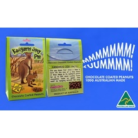 Aussie Sweet Treats - Kangaroo Joey Poo (100g) Milk Chocolate Coated Peanuts