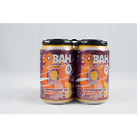 SOBAH Pepperberry Pale Ale Non-Alcoholic Craft Beer (330ml Can) - 4 Pack