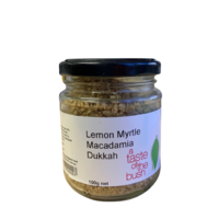 A Taste of the Bush Lemon Myrtle & Macadamia Nut Dukkah 100g