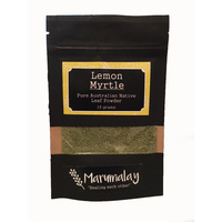 Marumalay Lemon Myrtle (dried leaf powder) 15g