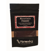 Marumalay Mountain Pepperberry (ground) 15g