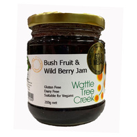 Wattle Tree Creek Bush Fruits & Wild Berry Jam (200g)