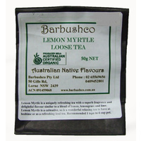 Barbushco Lemon Myrtle - Loose Leaf Native Tea 30g
