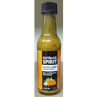 Mango Curry Lemon Myrtle Hot Sauce 160mls