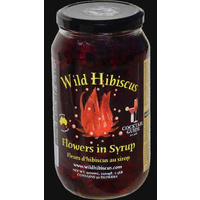 Wild Hibiscus Flowers in Syrup (1100g)