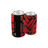 Bunabiri Aboriginal Art Can Cooler -  Camp Ground
