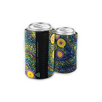 Bunabiri Aboriginal Art Neoprene Can Cooler - Seven Sisters Dreaming