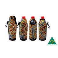 Bunabiri Neoprene Water Bottle Cooler - Brush-tailed Possum Dreaming