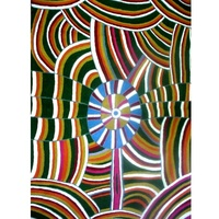 Iwantja Aboriginal Art Handmade Rug (Chainstitched) (72cm x 120cm) – Our Land