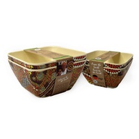 Bunabiri Bamboo Fibre Enviro Bowl (Set 2) - Colours of the Land