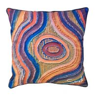 Saretta Aboriginal Art Totem Cushion Cover - Ngurakaali (Creation)