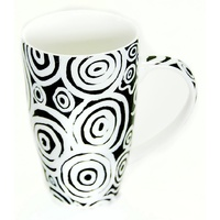 Better World Aboriginal Art Boxed Fine Bone China Mug - Seven Sisters