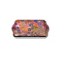 Yijan Aboriginal Art Melamine Scatter Tray - Water Lillies
