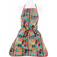 Jijaka Aboriginal Art Apron - Bark