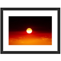 Framed Aboriginal Art Print [80cm x 60cm] - the New Dawn