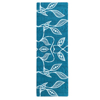 Eco Rubber Aboriginal design Yoga Mat - Lemon Myrtle