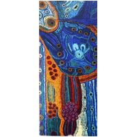 Better World Aboriginal Art Magnetic Bookmark - Two Sisters Travelling
