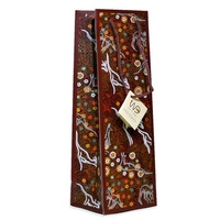 Warrina Aboriginal Art Giftbag (Long) - Kangaroo Dreaming