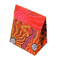Aboriginal design Handmade Paper Mini Pouch Giftbags - Travelling Through Country