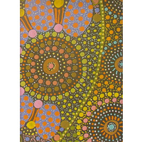 Keringke Aboriginal Art Wrapping Paper by Josette Young