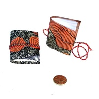 Handmade Aboriginal Art Paper Mini Notebook/Journal - Sandhills
