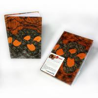 Handmade Aboriginal Art Paper Notebook - Sandhills