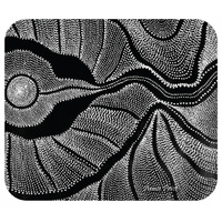 Utopia Aboriginal Art Neoprene Mousepad - Country