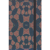 Yijan Aboriginal Art A5 Ruled Notebook - Women Travel Dreaming (Slate)