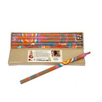 Handmade Paper Aboriginal Art Pencils (Set 5) - Two Dogs Dreaming