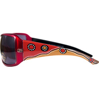 Aboriginal Art Sunglasses - Meeting Place