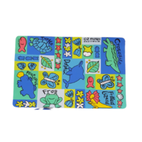 Oz Mates Australia Laminated Placemat - Blue Aussie Animals