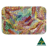 Utopia Aboriginal Art Neoprene Placemat - Firesparks