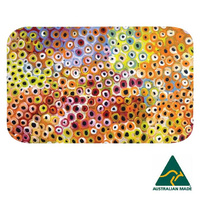 Utopia Aboriginal Art Neoprene Placemat - Soakage