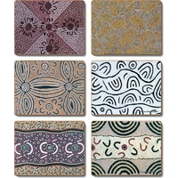 Yijan Aboriginal Cork Giftboxed Placemat Set (6) - Travel Stories