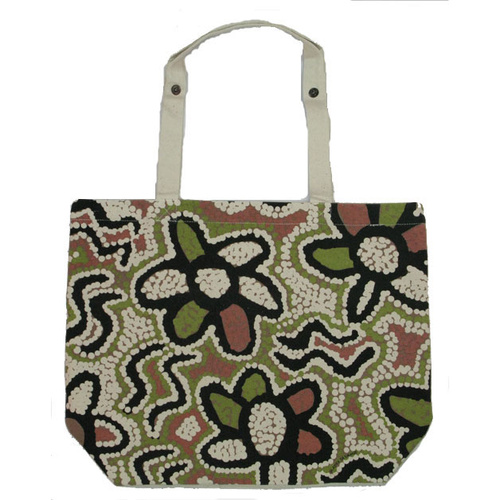 Outstations Canvas Folding Bag - Bush Coconut [Colour: Khaki]
