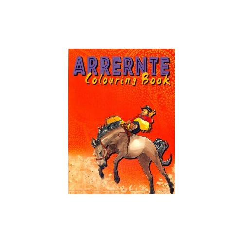 Arrernte Colouring Book - Aboriginal Children's Book