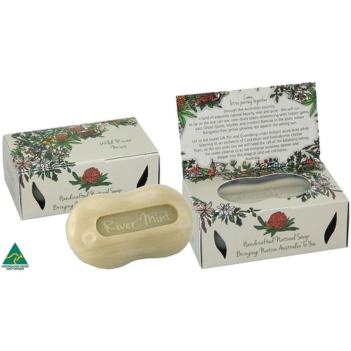 Handmade Soap - Wild River Mint (125g)