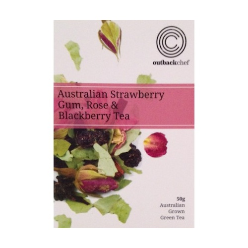 Native Loose Leaf Tea 50g - Strawberry Gum, Rose & Blackberry