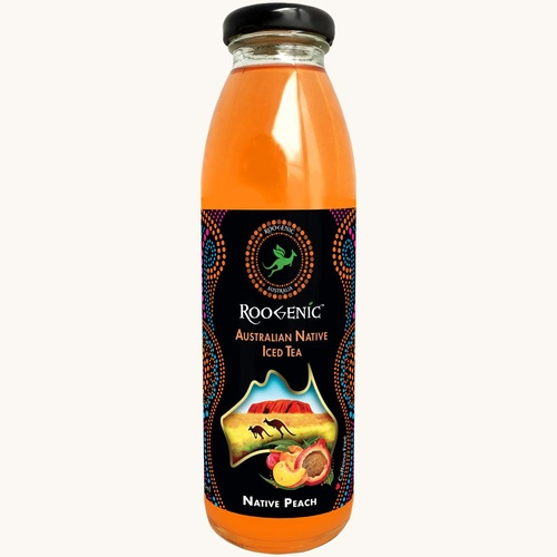 Roogenic Native Peach (Super Booster) Iced Tea (350ml)