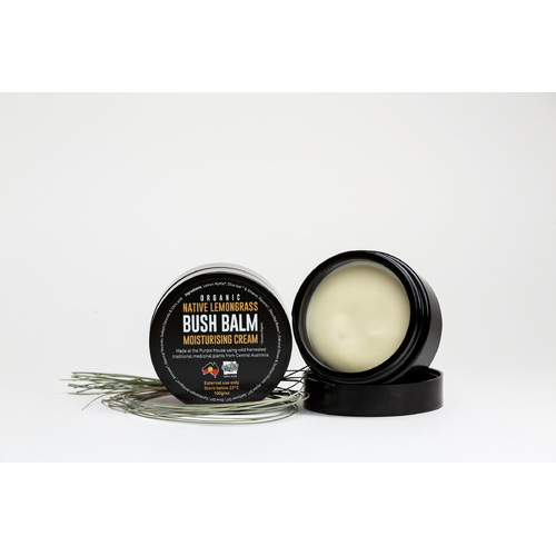 Native Lemongrass Bush Balm Face Cream (100g)