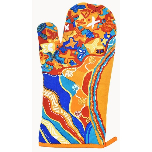 Jijaka Aboriginal Art Oven Glove - Joy of Sound