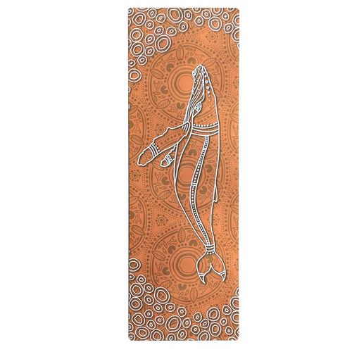 Eco Rubber Aboriginal design Yoga Mat - Saltwater Life